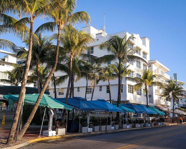 The Clevelander Hotel in Miami Beach