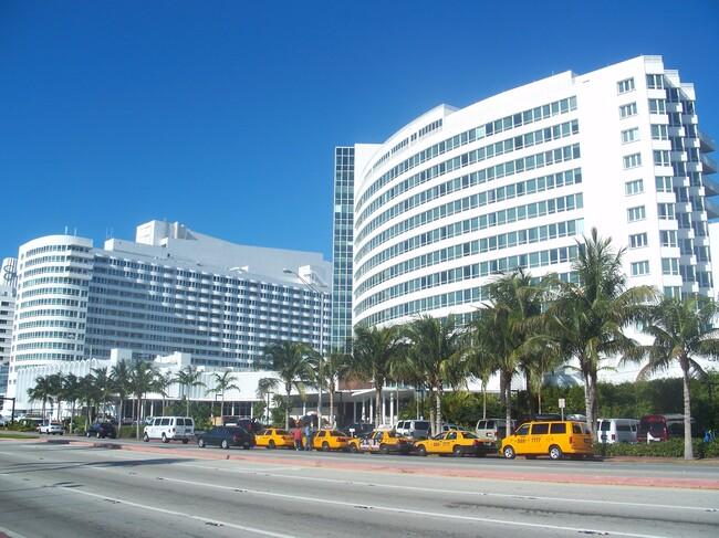 The Fontainebleau Hotel in Miami Beach