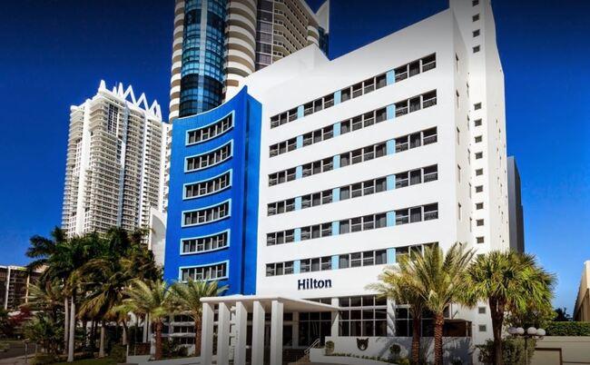 The Hilton Cabana Hotel in Miami Beach
