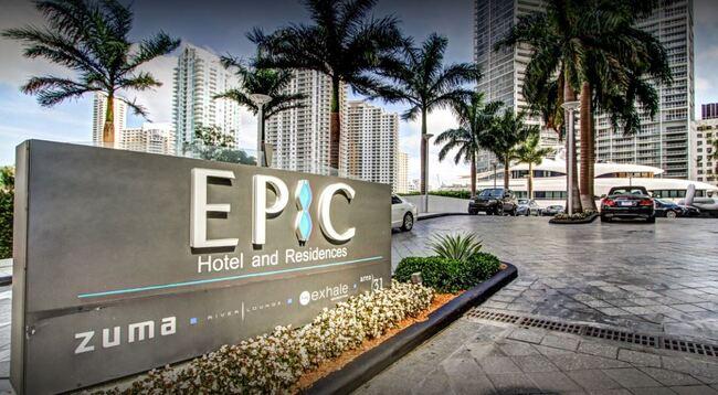 The Kimpton EPIC Hotel in Miami Florida