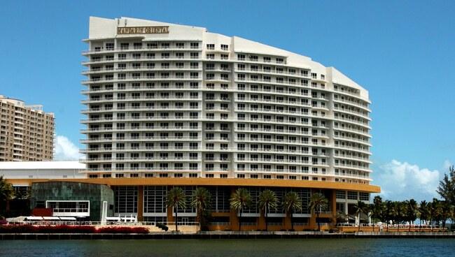 The Mandarin Hotel in Miami Florida