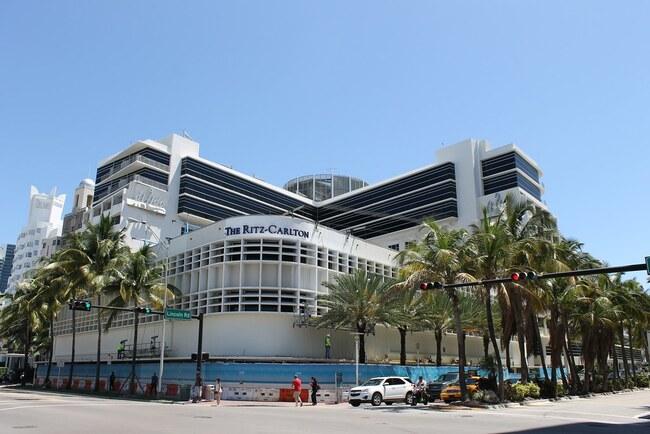 The Ritz Carlton Hotel in Miami Beach