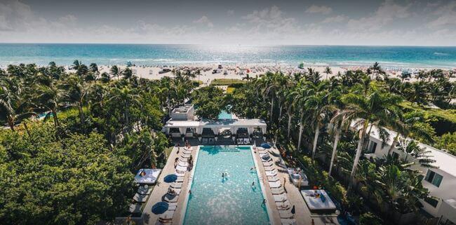 The Shore Club Hotel in Miami Beach