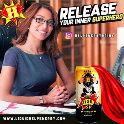 Office Secretaries Energy Drink
