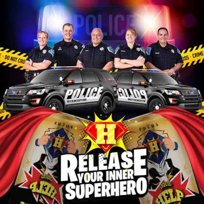 Police officer energy drink discounts