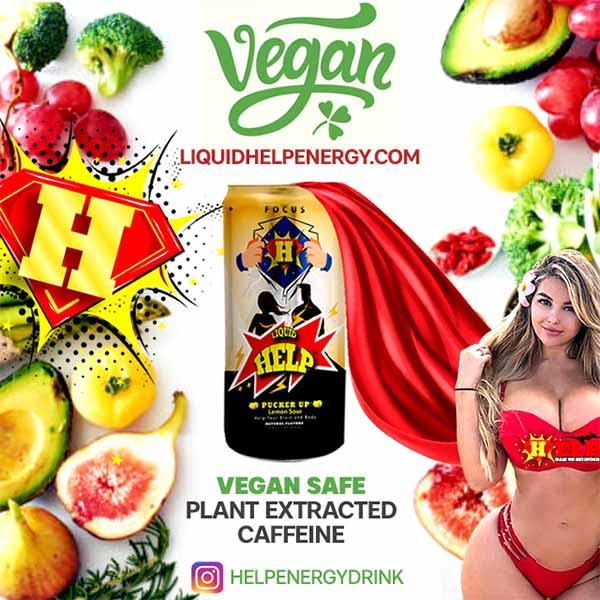 Vegan Diet Energy Drink