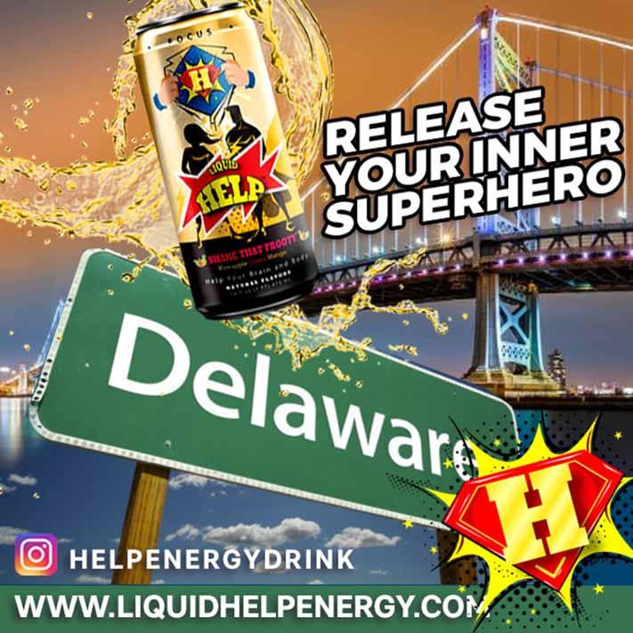 Delaware energy drink