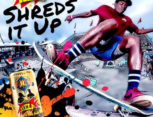 Energy Drink For Skateboarders