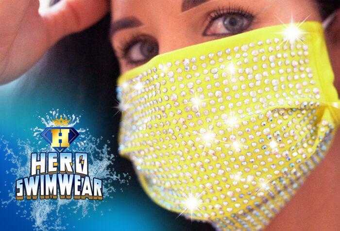 sparkle face mask