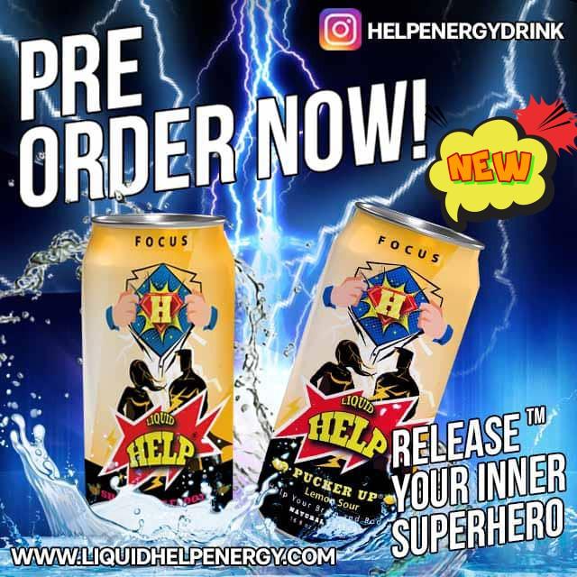 preorder help energy drink