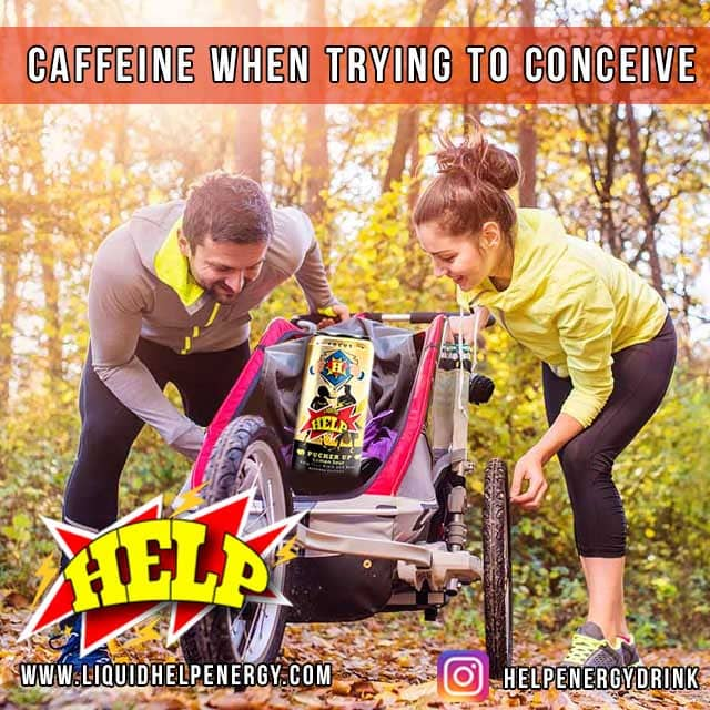 conceive with caffeine is okay