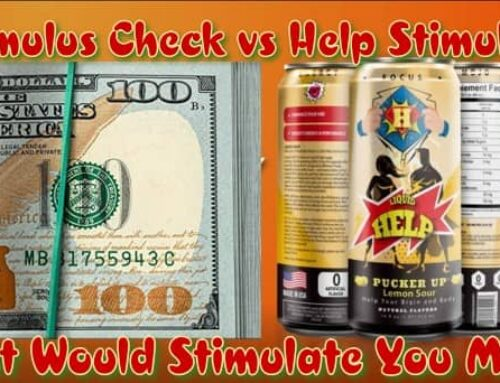 Stimulus Check Or Energy Drink