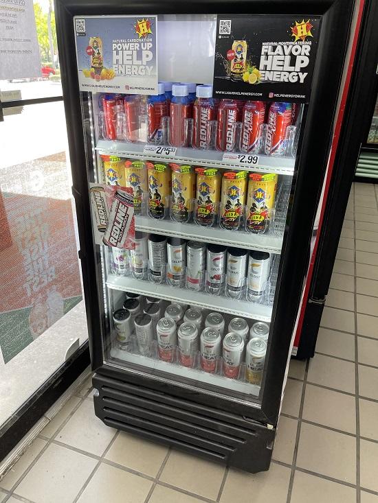 Cooper City Westar Gas Station Energy Drink