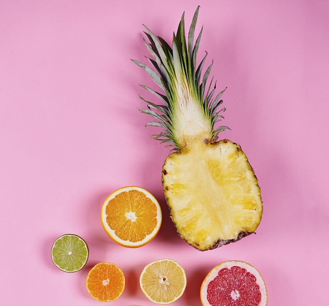 Pineapple and Lemon Juice for weight loss