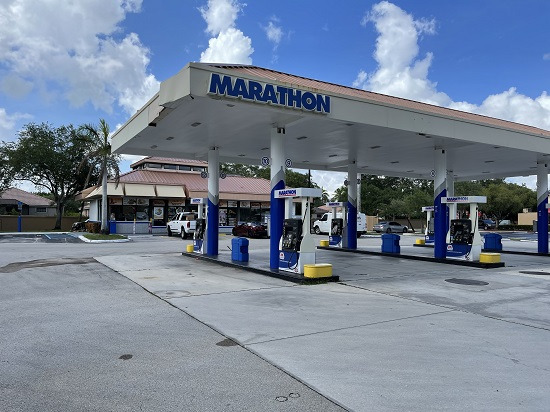 marathon gas station energy drink