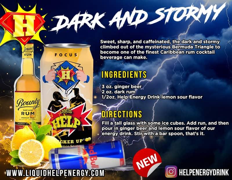 dark and stormy recipe mix